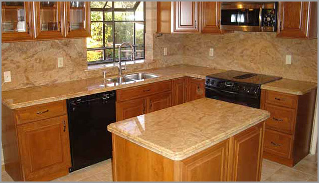 Ordinaire Exotic Gold Granite ...